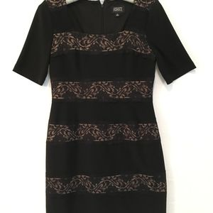 Adrianna Papell Black Cocktail dress Size 6P